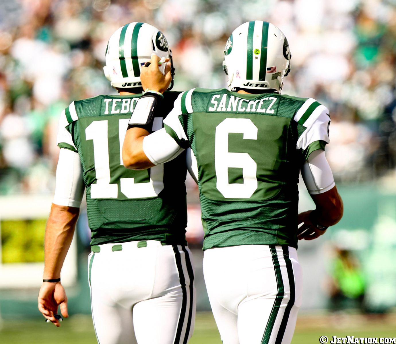 Tim Tebow & Mark Sanchez