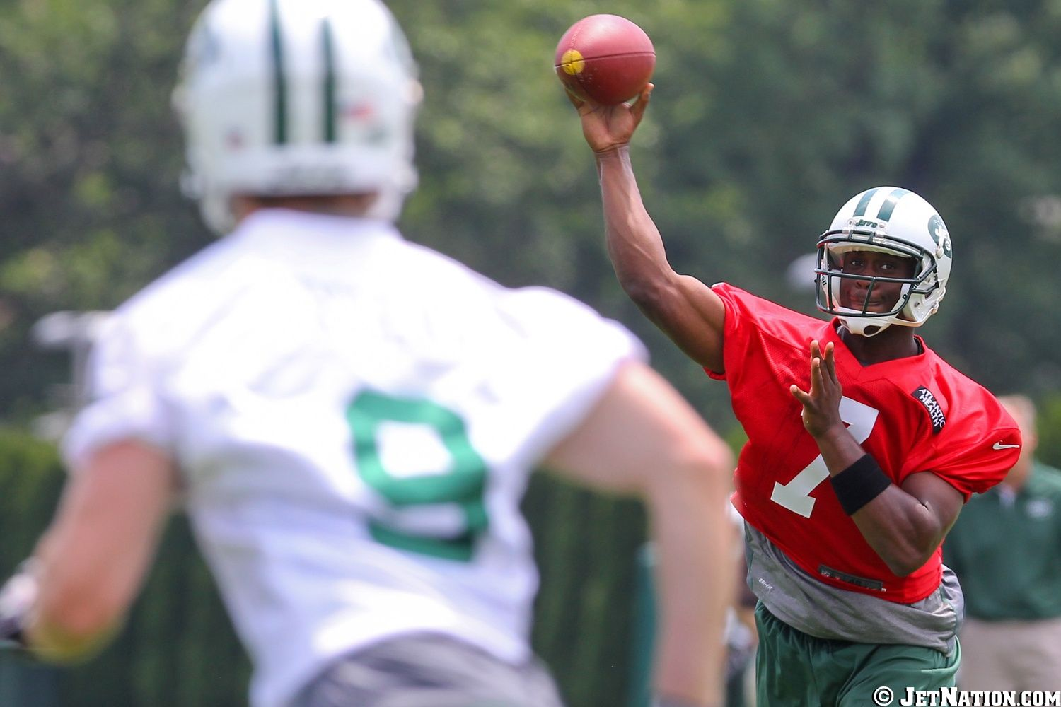 Geno Smith & Ben Obomanu