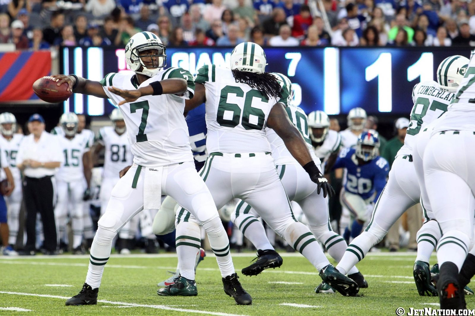 Geno Smith, Willie Colon