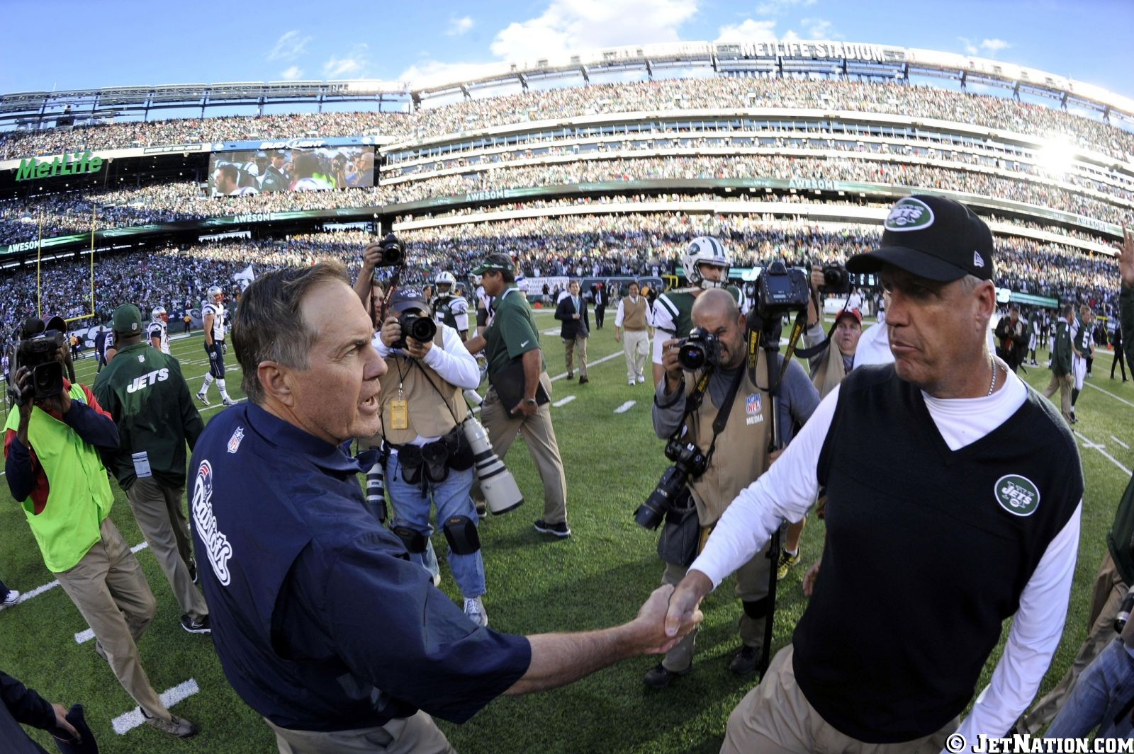 Bill Belichick & Rex Ryan
