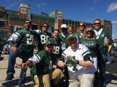 Joe Carlson, Joe Grinwis and Crew in Green Bay