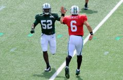 Mark Sanchez, David Harris
